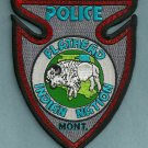 Flathead Montana Tribal Police Patch