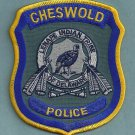 Cheswold Connecticut Tribal Police Patch