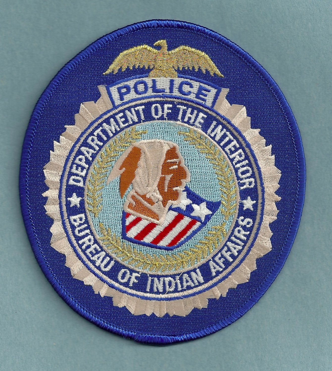 bureau of indian affairs police patch. Black Bedroom Furniture Sets. Home Design Ideas