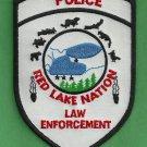 Red Lake Nation Minnesota Tribal Police Patch