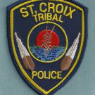 St. Croix Wisconsin Tribal Police Patch