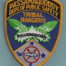 Passamaquoddy Maine Tribal Ranger Police Patch