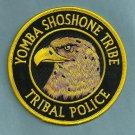 Yomba Shoshone Nevada Tribal Police Patch