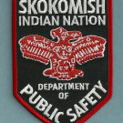 Skokomish Washington Tribal Police Patch