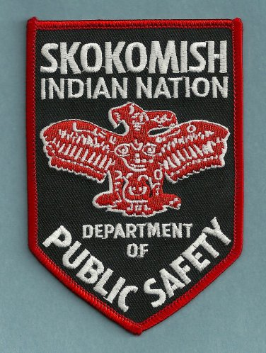 Skokomish Washington Tribal Police Patch