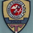 Pueblo of Tesuque New Mexico Tribal Police Patch