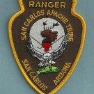 San Carlos Apache Arizona Tribal Police Patch