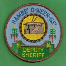 Nambe O'Ween'Ge Deputy Sheriff New Mexico Tribal Police Patch