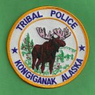 Kongiganak River Alaska Tribal Ranger Police Patch