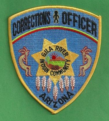 Gila River Arizona Tribal Police Corrections Patch