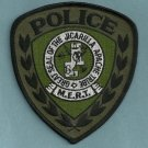 Jicarilla Apache New Mexico Tribal Police MERT Patch