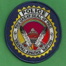 Yavapai Apache Arizona Tribal Police Patch