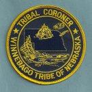 Winnebago Nebraska Tribal Coroner Police Patch