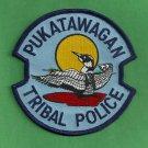 Pukatawagan Canada Tribal Police Patch
