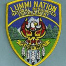Lummi Nation Washington Tribal Natural Resources Enforcement Police Patch