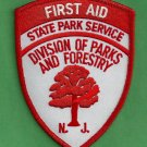 New Jersey Division of Parks & Forestry First Aid Patch