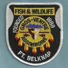 Fort Belknap Tribal Fish & Wildlife Enforcement Police Patch