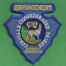 Colville Tribal Natural Resources Enforcement Police Patch