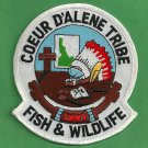 Coeur D'Alene Tribal Fish & Wildlife Enforcement Police Patch