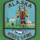Alaska Fish & Game Enforcement Police Patch