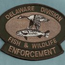 Delaware Fish & Wildlife Enforcement Police Patch