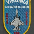 Virginia Air National Guard Crash Fire Rescue Patch