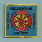 Hellekkon Air Force Base Greece Crash Fire Rescue Patch