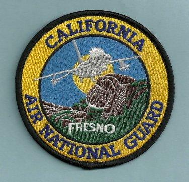 Fresno California Air National Guard Crash Fire Rescue Patch