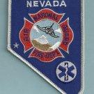 Nevada Air National Guard Base Crash Fire Rescue Patch