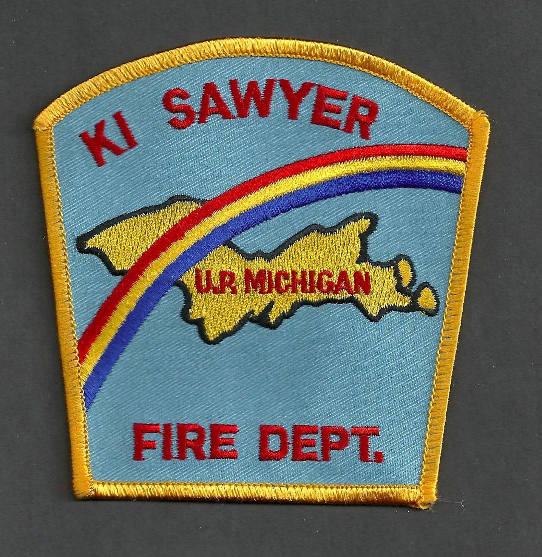 K.I. Sawyer Air Force Base Michigan Crash Fire Rescue Patch