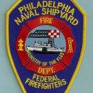 Philadelphia Naval Shipyard Pennsylvania Fire Rescue Patch