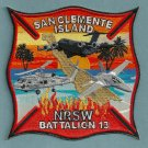 San Clemente Island Naval Station Crash Fire Rescue Patch