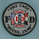 Camp Bucca Military Base Iraq Fire Rescue Patch