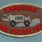 Kandahar USAF Afghanistan Crash Fire Rescue Patch