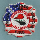 Sather Military Air Base WSI Iraq Crash Fire Rescue Patch