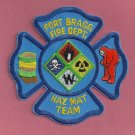 Fort Bragg Military Base North Carolina Fire Haz Mat Patch