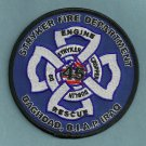 Camp Stryker Military Base Iraq Fire Rescue Patch