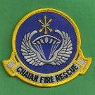 Chatan Air Base Japan Crash Fire Rescue Patch
