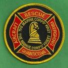 Quantico Marine Corps Air Station Virginia Crash Fire Rescue Patch