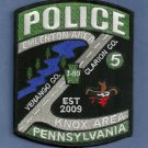 Emlenton-Knox Area Pennsylvania Police Patch