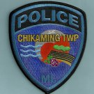 Chikaming Township Michigan Police Patch