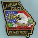 Harlem Georgia Police Patch