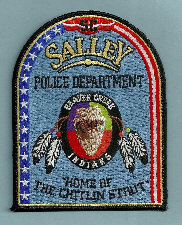 Salley South Carolina Police Patch