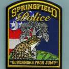 Springfield South Carolina Police Patch FROG
