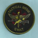 GREEN Tactical SWAT Team Medic Patch