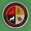 "AIM American Indian Movement ""Endangered Species"" Patch"