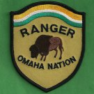 Omaha Nation Nebraska Tribal Ranger Police Patch