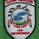 Red Lake Nation Minnesota Tribal Game Warden Police Patch