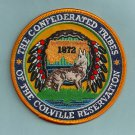 Colville Reservation Washington Tribal Seal Patch