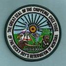 Chippewa Cree Montana Tribal Seal Patch